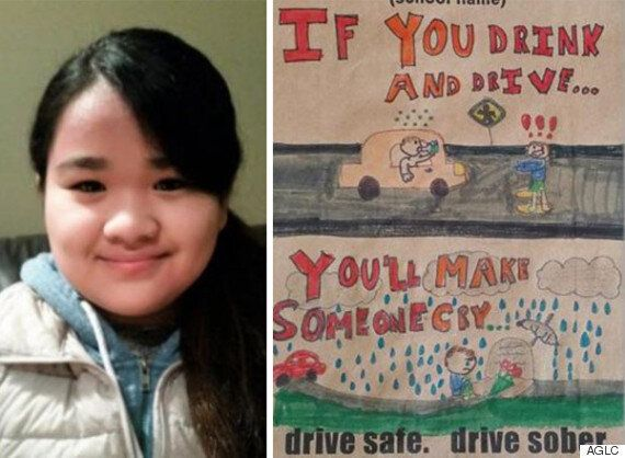 Alberta Liquor Bags To Feature Student's Powerful Message Against Impaired