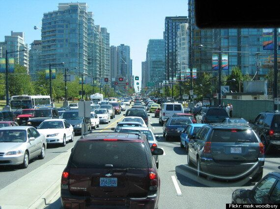 Vancouver Traffic Congestion Is The Worst In The Country: