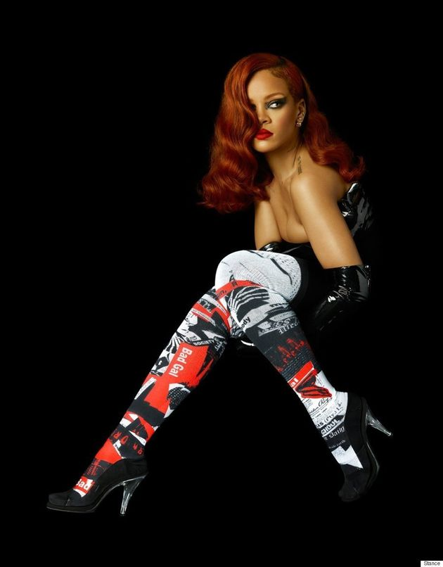Rihanna Is Stepping Into the Sock Business For Her Latest