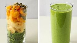 13 Vegetable Smoothies Your Kids Will Suck