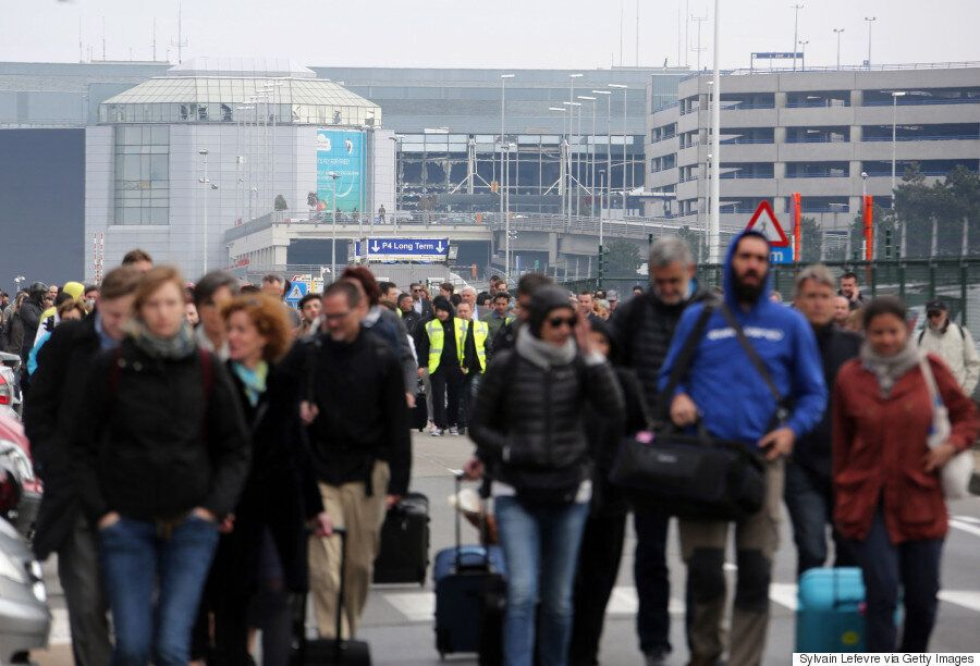 Brussels Attacks: Photos, Videos Show Aftermath Of Deadly Airport, Subway