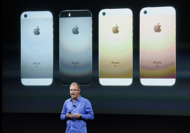 iPhone SE Unveiled At Apple Event As Company Girds For Battle With