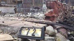 Don't Go Home: Officials Tell Saskatchewan Fire
