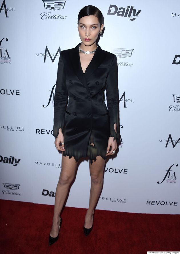 Bella Hadid Wins The Daily Front Row's 'Model Of The Year,' Says She 'Loves' BF The
