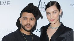 The Weeknd Supports GF Bella Hadid As She Wins Model Of The