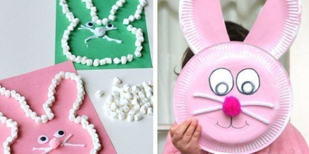 Easter Bunny: 15 Crafts To Keep Kids