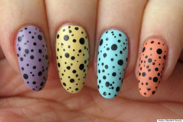 Nail Art: Try This Easy Pastel Easter Egg