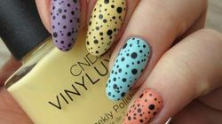 Celebrate The Arrival Of Spring With Freckled Pastel Egg