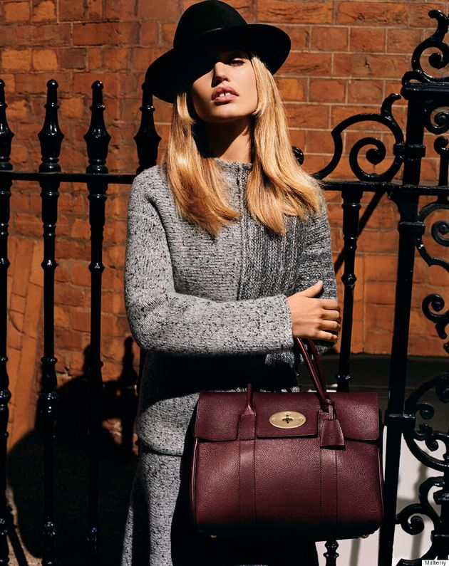 Georgia May Jagger Channels '70s Chic For Mulberry's Fall/Winter