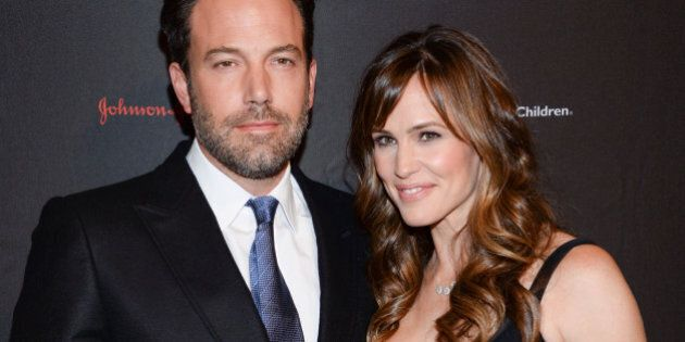 Actor, filmmaker and Eastern Congo Initiative founder, Ben Affleck and wife actress Jennifer Garner attend the 2nd Annual Save the Children Illumination Gala at The Plaza Hotel on Wednesday, Nov. 19, 2014, in New York. (Photo by Evan Agostini/Invision/AP)