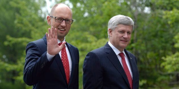 Canada, Ukraine To Sign Trade Deal Right Before