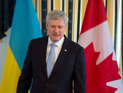 Stephen Harper Awarded Ukraine's Order Of