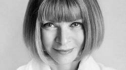 Anna Wintour Poses For Mario Testino's 'Towel