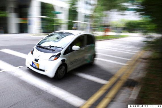 Self-Driving Taxis Make Their Debut In