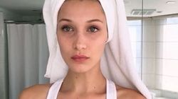 Bella Hadid's Jet Lag Beauty Routine Is Easier Than You