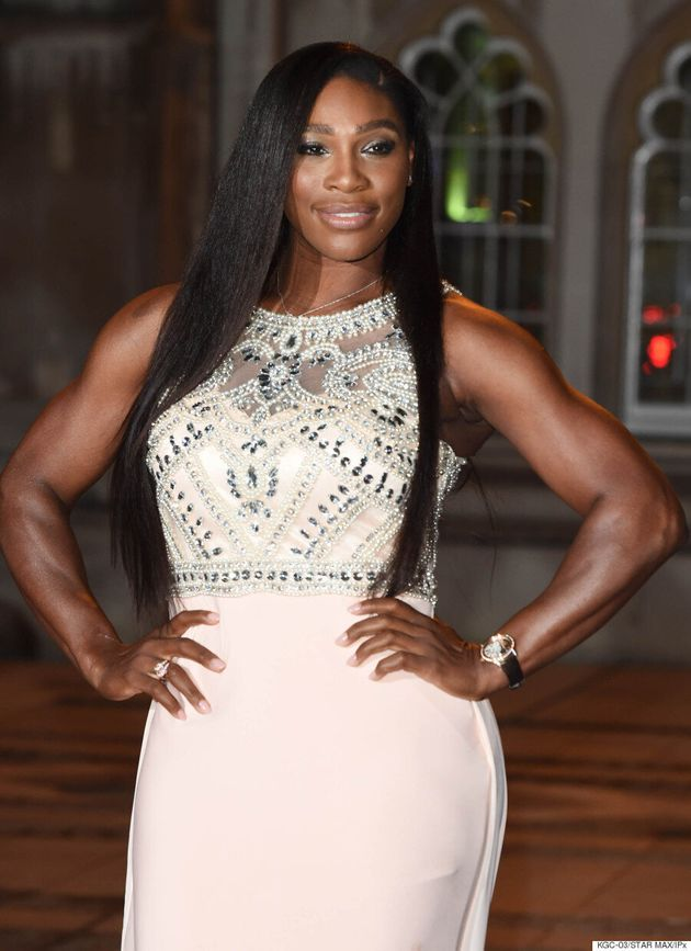 Serena Williams Stuns At Wimbledon Champions'