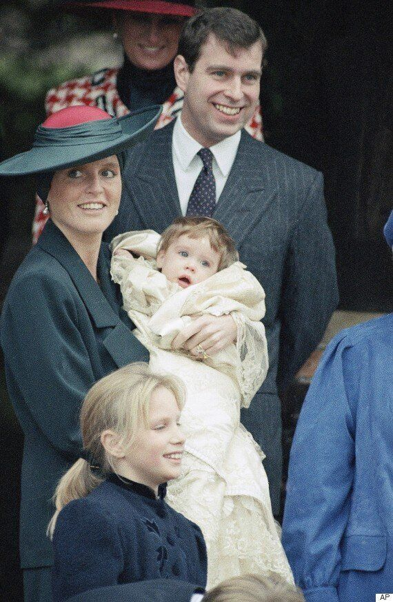 Princess Charlotte's Christening Caps Off Almost 90 Years Of Adorable Royal
