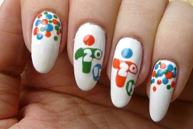 #ManiMonday: Pan Am-Inspired Nail Art To Get You Into The Spirit Of The