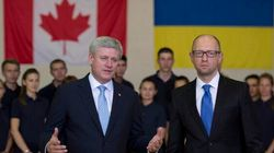 Ukrainian PM To Meet With Harper, Chat About