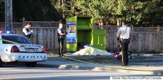 Surrey Donation Bin Death Is Not Suspicious: