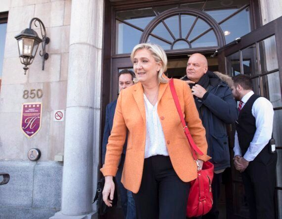 Marine Le Pen Blasts Canada's Immigration Policy During Quebec City