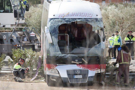 Spain Bus Crash Kills At Least 13 Spaniards, Foreign Exchange