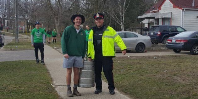 Wilfrid Laurier University Students Help Cops Bust Their Own St. Patrick's Day