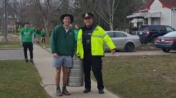 Partiers Help Cops Take Kegs Away In Most Canadian Bust