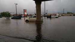 Heavy Rains Flood Northern Alberta
