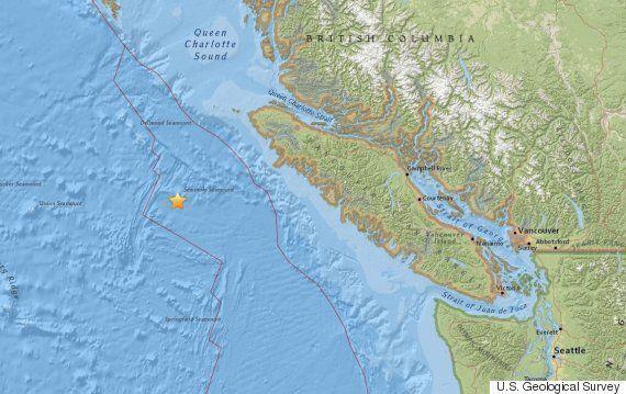 Earthquake Near Port Hardy, B.C. Registers 5.2