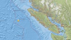 5.2-Magnitude Earthquake Recorded Off Vancouver