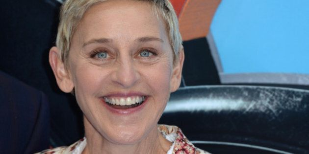LONDON, ENGLAND - JULY 10:  Ellen DeGeneres attends the UK Premiere of 'Finding Dory' at Odeon Leicester Square on July 10, 2016 in London, England.  (Photo by Anthony Harvey/Getty Images)