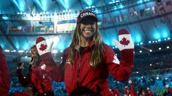 Rain Couldn't Dampen Team Canada's Spirits At The Rio Closing