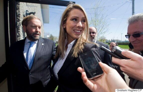 Ruth Ellen Brosseau, Matthew Dube Back Mulcair Ahead Of Leadership