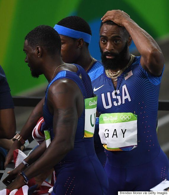 U.S. Relay Team Disqualified: Heart-Breaking Reactions Show Entire Spectrum Of Human