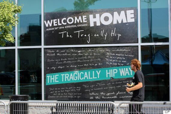 The Tragically Hip Fans Descend On Kingston For Final
