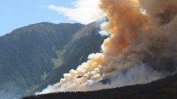 B.C. Wildfire Doubles In Size, Evacuations
