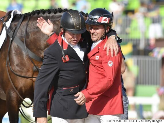 Canada's Eric Lamaze And Fine Lady 5 Gallop To Bronze Show Jumping