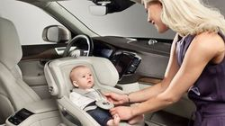 Volvo Brings Child Seats To The