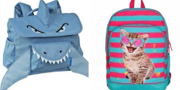 Back To School Shopping: 13 Super Fun Backpacks Under