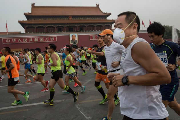 Mark Zuckerberg Goes Jogging In Beijing's Toxic Air, Gets Earful On Social