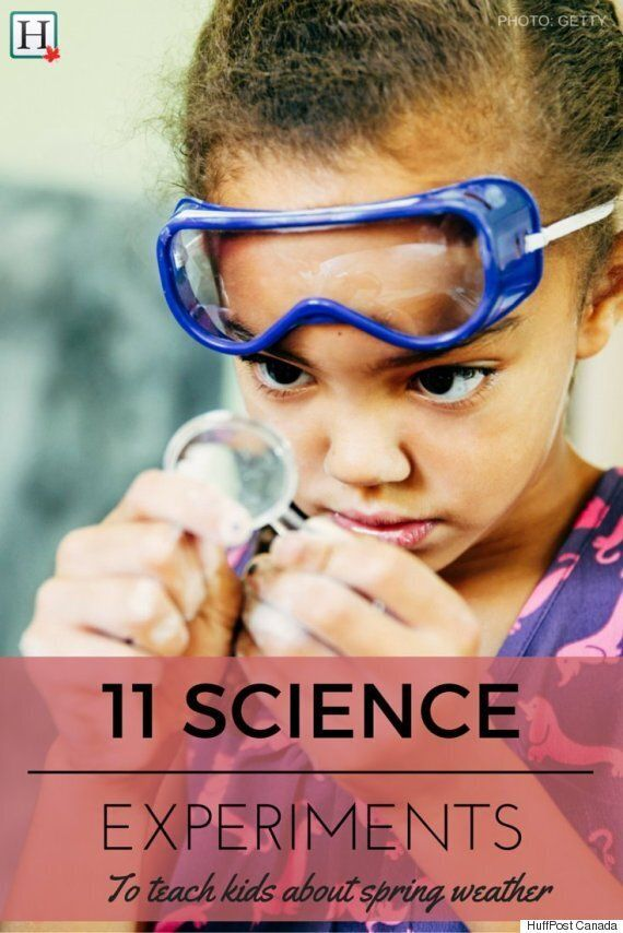 Experiments For Kids: Learn About Spring Weather With Fun
