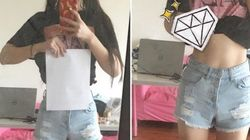 Disturbing Trend Sees Girls Measuring Waists With Sheets Of