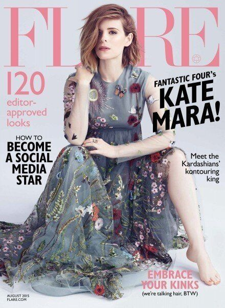 'Fantastic Four' Actress Kate Mara Is Flare's August Cover