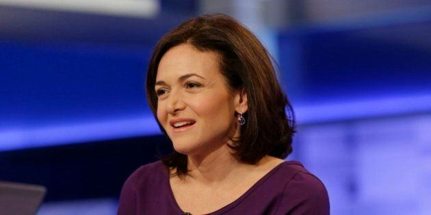 CORRECTS SPELLING TO SANDBERG NOT SANDBURG Sheryl Sandberg, chief operating officer of Facebook, responds...