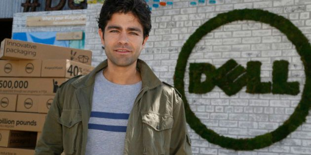 IMAGE DISTRIBUTED FOR DELL - Dell's First-Ever Social Good Advocate Adrian Grenier, in support of #legacyofgood,...