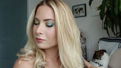 How To Get The Tropical Eye Makeup
