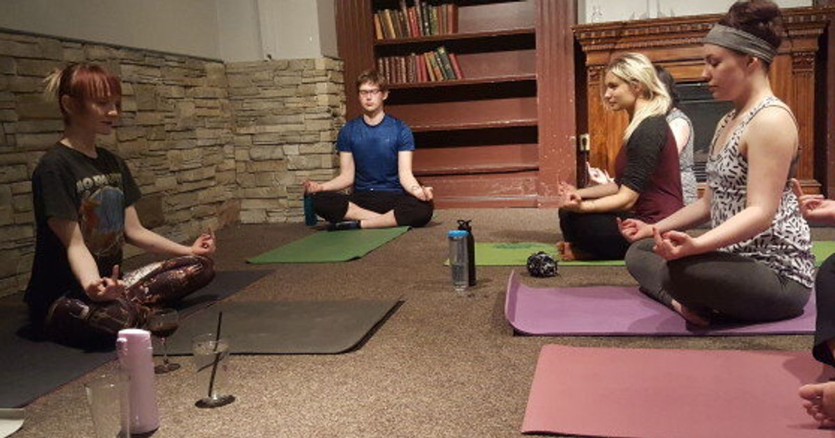 Rage Yoga Brings Inner Peace With Beer Swearing And Heavy Metal Huffpost Canada
