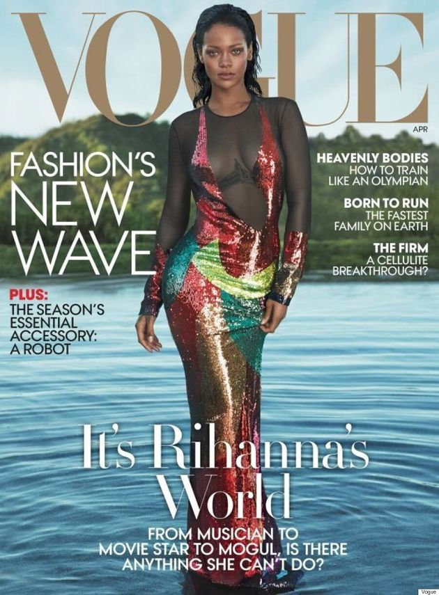 Rihanna Is Back At It Again With Another Vogue Cover, This Time Wearing Tom