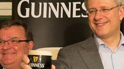 Ambrose, Harper Toast Flaherty On St. Patrick's